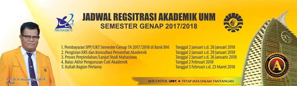 Jadwal Akademik 2018